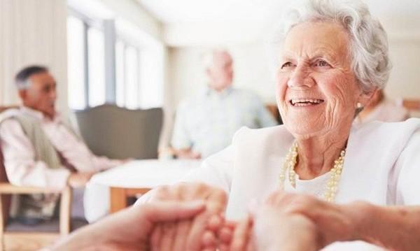 Отличный пансионат для пожилых людей